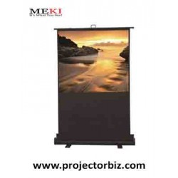 MEKI Floor Stand Projector Screen 80""