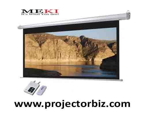 Meki Electric Projector Screen 144 Quot X 144 Quot Screen Malaysia