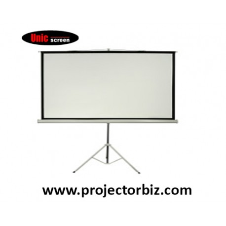 Unic Manual Tripod Screen Projector Screen 5' x 5'