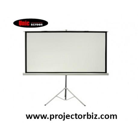 Unic Tripod Screen Projector Screen 7' x 7'