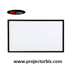 "Unic Fixed Frame Projector Screen 119""D"