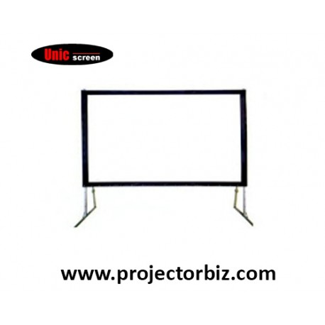 Unic Fast Fold Portable Projector Screen 6' x 8'