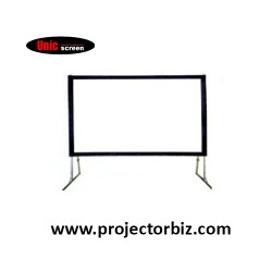 Unic Fast Fold Portable Projector Screen 12' x 16'