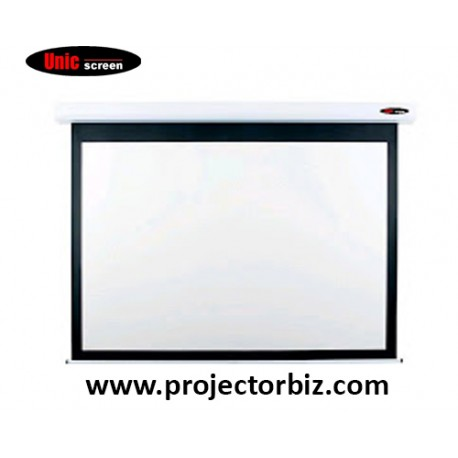 """Unic Electric Projector Screen 92""""D"""