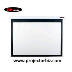 "Unic Electric Projector Screen 119""D"