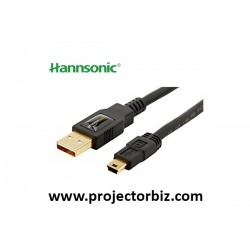 Hannsonic USB A to USB B Cable Cable 5m