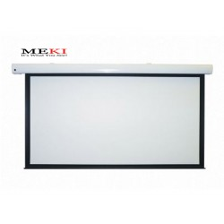 "MEKI Electric Projector Screen 133""D 16:9 High Contrast Grey"