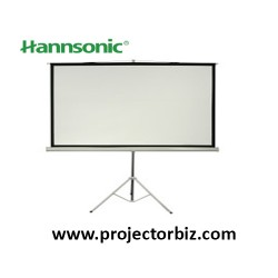 "Hannsonic Tripod Projection Screen 60""x60"" (5'x5')"