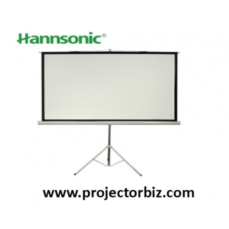 "Hannsonic Tripod Projection Screen 60"" x 60"""