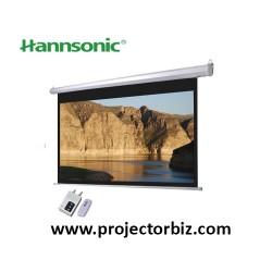 "Hannsonic Motorised Projection Screen 96""x120""(8'x10')"
