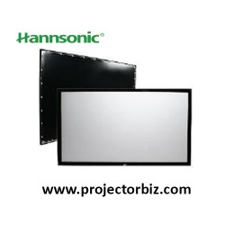 Hannsonic Fixed Frame Projection Screen 120""