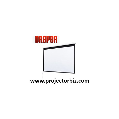 Draper Electric Baronet 4:3 NTSC / PAL Video Format Projector Screen 5' x 5'