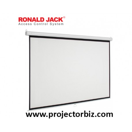 Ronald jack Manual Projection Screen 5' x 5'