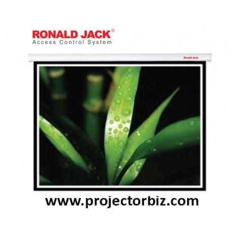 Ronald jack Motorized Projection Screen 5' x 5'