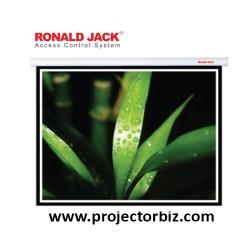 Ronald jack Motorized Rear Projection Screen 9' x 12'