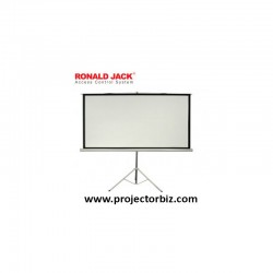 Ronald jack Tripod Screen, Projection Screen 7' x 7'