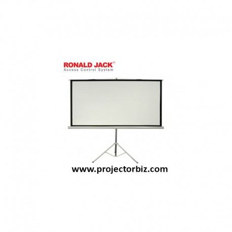 Ronald jack Tripod Screen, Projection Screen 5' x 5'