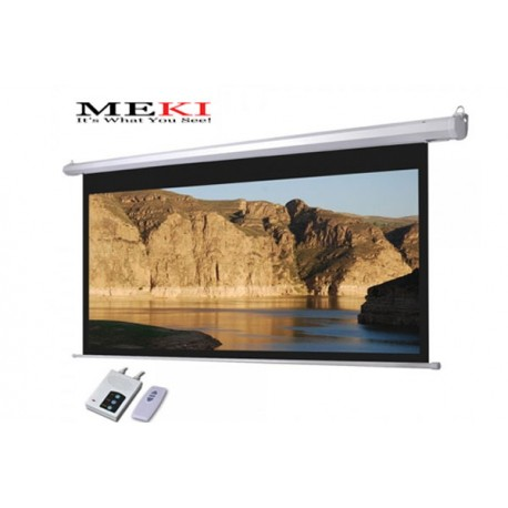 "MEKI Electric Screen 106""D 16:9 High Contrast Grey"
