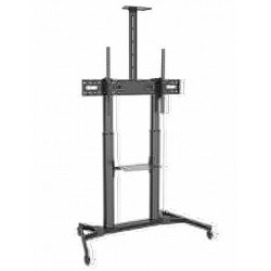 "TTL03-610TW Larg screen Telescopic Height TV cart/trolley 60"" to 100"" - M'ASIA TV TROLLEY"