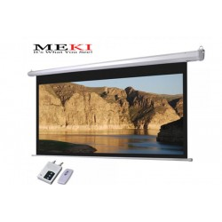 "MEKI Electric Projector Screen 92""D 16:9 High Contrast Grey"