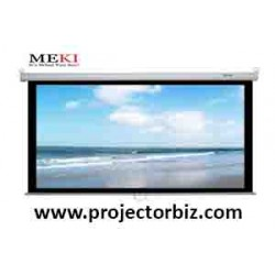 "MEKI Manual Projector Screen 60"" x 60""-SCREEN MALAYSIA"